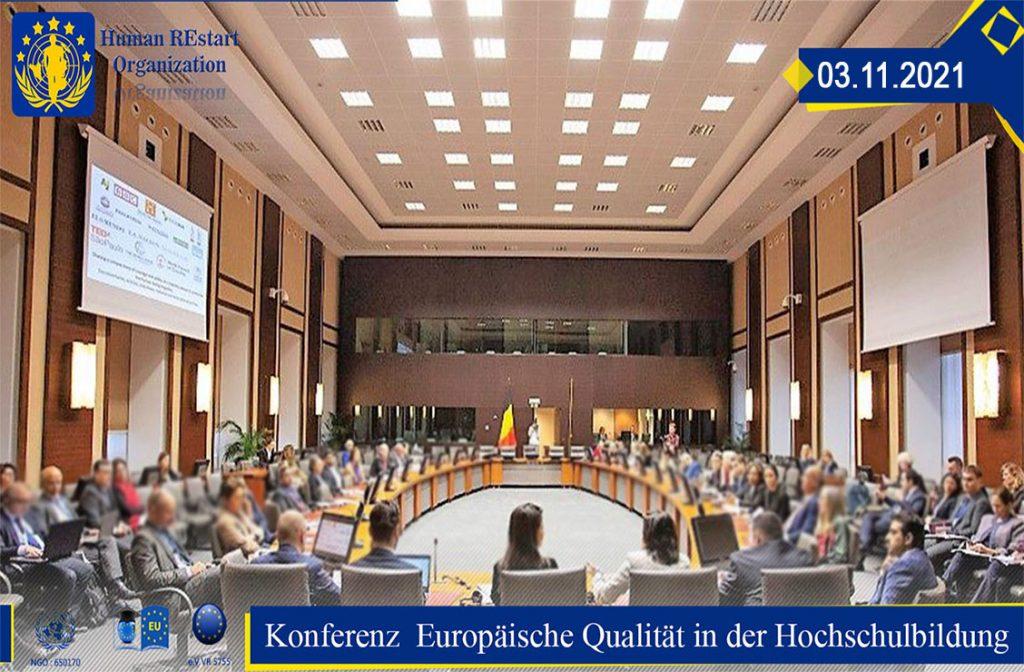 Europäische Qualitätskonferenz HUMAN RESTART